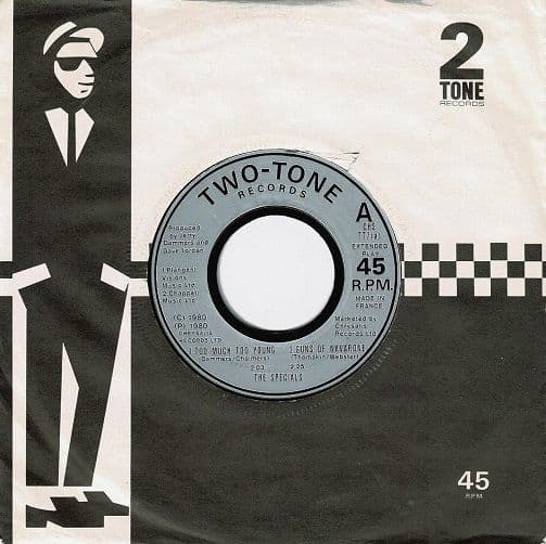 THE SPECIALS (THE SPECIAL AKA) Too Much Too Young EP Vinyl Record 7 Inch French 2 Tone 1980
