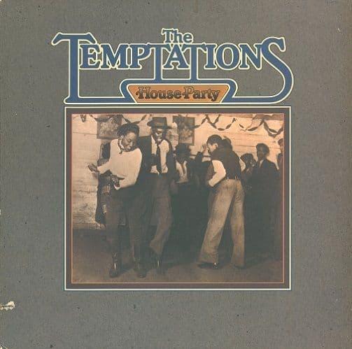 THE TEMPTATIONS House Party Vinyl Record LP US Gordy 1975