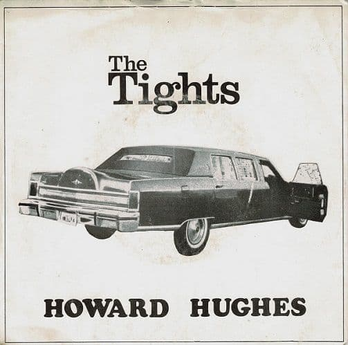 THE TIGHTS Howard Hughes Vinyl Record 7 Inch Cherry Red 1978