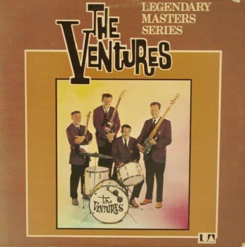 THE VENTURES Legendary Masters Series Vinyl Record LP United Artists 1974
