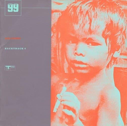 THE WHO / JIMI HENDRIX Backtrack 4 Vinyl Record LP Track 1970