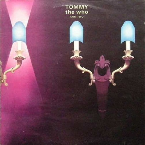 THE WHO Tommy - Part 2 Vinyl Record LP Track 1972