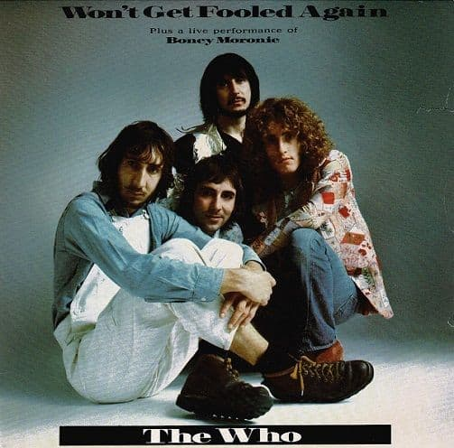 THE WHO Won't Get Fooled Again Vinyl Record 7 Inch Polydor 1988