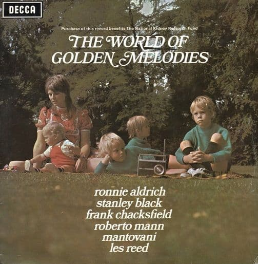 The World Of Golden Melodies Vinyl Record LP Decca 1971