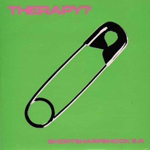 THERAPY? Shortsharpshock EP Vinyl Record 7 Inch A&M 1993 Pink Vinyl
