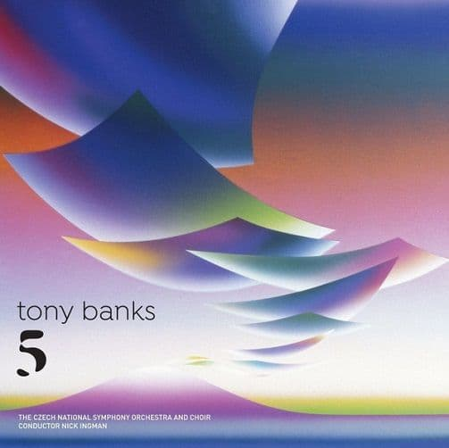 TONY BANKS Five Vinyl Record LP BMG 2018