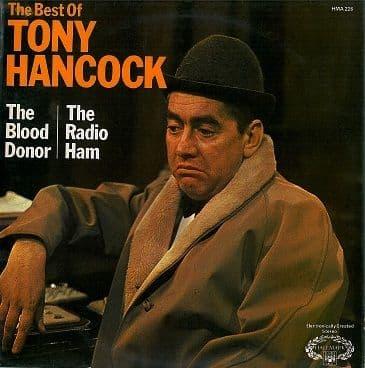TONY HANCOCK The Best Of Tony Hancock: The Blood Donor / The Radio Ham LP Vinyl Record Hallmark 1961