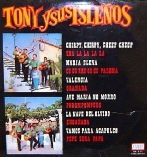 TONY Y SUS ISLENOS Tony Y Sus Islenos LP Vinyl Record Album 33rpm Spanish Fonal 1971