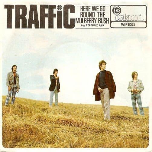 TRAFFIC Here We Go Round The Mulberry Bush Vinyl Record 7 Inch Island 1967