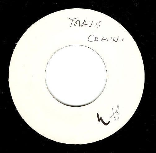TRAVIS Coming Around Vinyl Record 7 Inch Independiente 2000 Promo