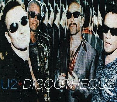 U2 Discotheque CD Single Island 1997