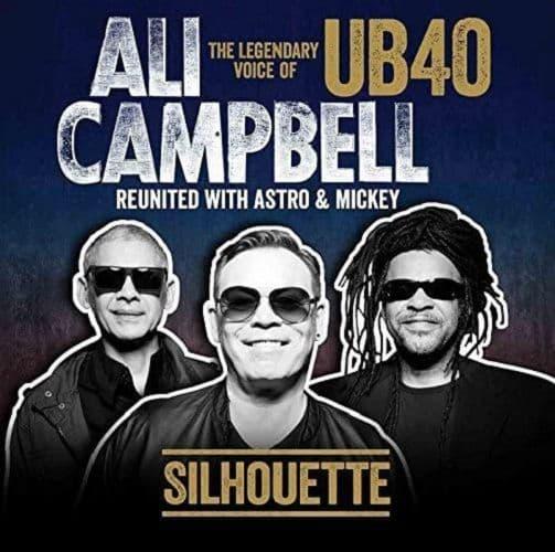 UB40 FEAT. ALI, ASTRO & MICKEY Silhouette Vinyl Record LP Cooking Vinyl 2014
