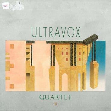 ULTRAVOX Quartet LP Vinyl Record Album 33rpm Chrysalis 1982