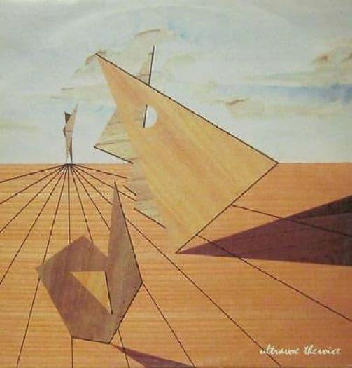 ULTRAVOX The Voice Vinyl Record 12 Inch Chrysalis 1981