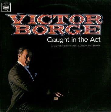 VICTOR BORGE Caught In The Act LP Vinyl Record Album 33rpm CBS 1966