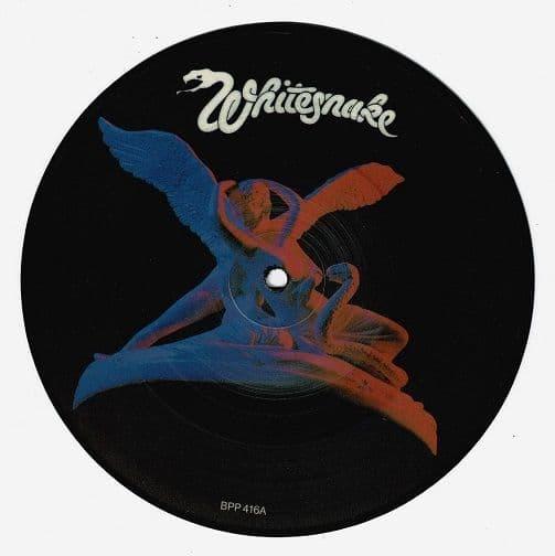 WHITESNAKE Here I Go Again Vinyl Record 7 Inch Liberty 1982 Picture Disc