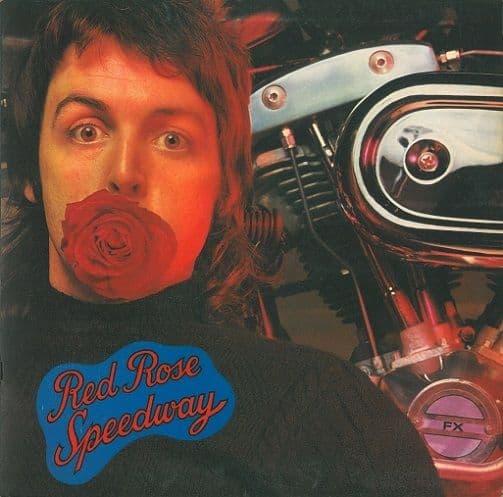 WINGS (PAUL McCARTNEY) Red Rose Speedway Vinyl Record LP Apple 1973