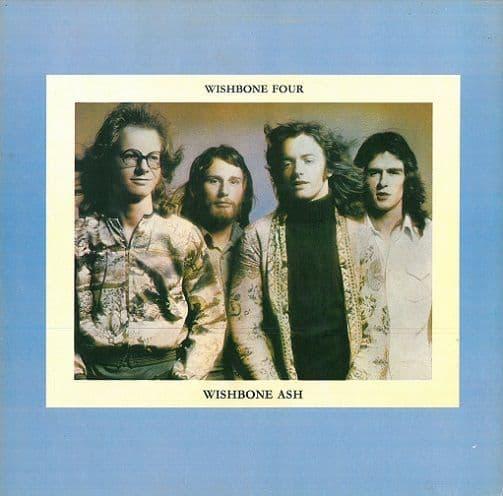 WISHBONE ASH Wishbone Four Vinyl Record LP MCA 1974