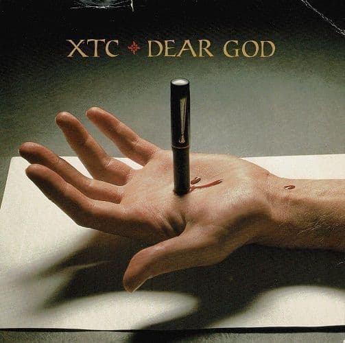 XTC Dear God Vinyl Record 7 Inch Virgin 1986