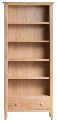 Scandia Light Oak Large Bookcase