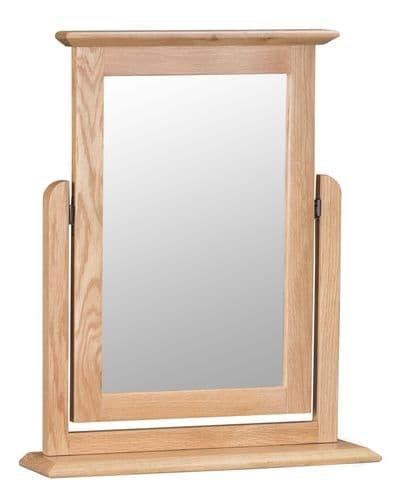 Scandia Light Oak Single Mirror