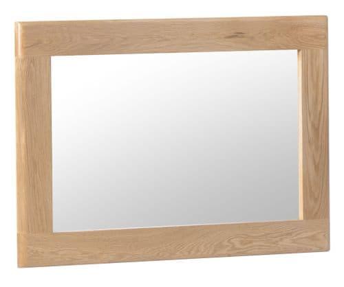 Scandia Light Oak Wall Mirror
