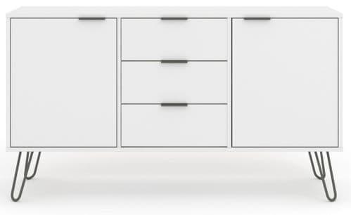 Augusta White Medium Sideboard
