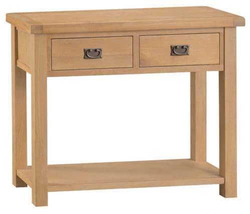 Cornish Oak Console Table