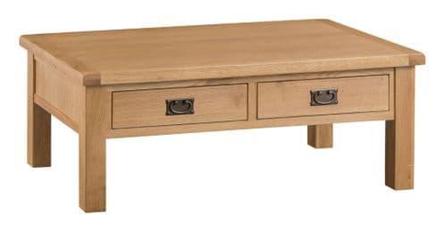 Cornish Oak Large Coffee Table