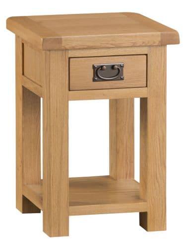Cornish Oak Side Table