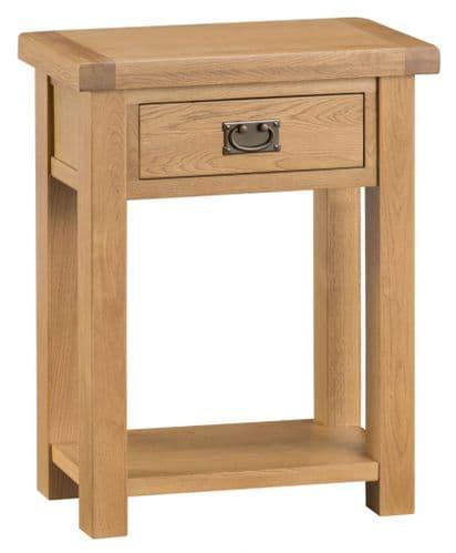 Cornish Oak Telephone Table