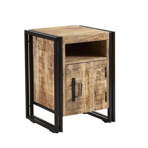 Cosmopolitan Side Table With Door