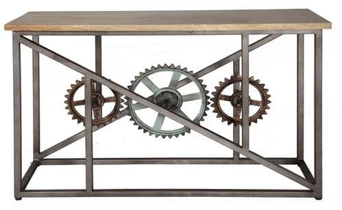 Evolution Console Table with Wheels