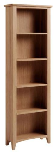 Greenwich Light Oak Large Bookcase