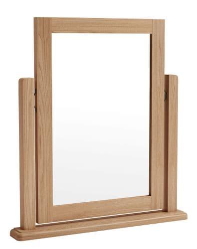 Greenwich Light Oak Single Dressing Table Mirror