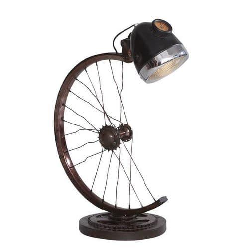 Half Wheel Lamp