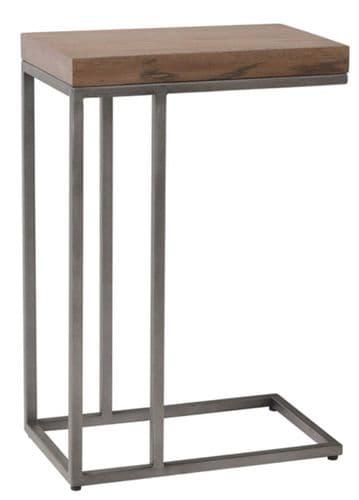 Iberia Grey Oak Sofa Table