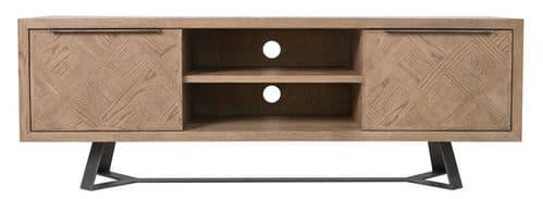 Iberia Grey Oak TV Cabinet
