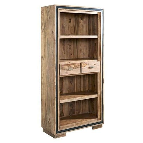Jaipur Rosewood Large Wide Bookcase