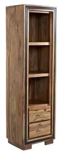 Jaipur Rosewood Slim Bookcase
