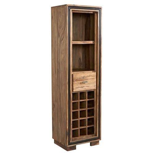 Jaipur Rosewood Wine Bookcase