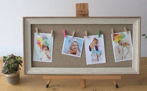 Natural Jute Peg Photo Frame