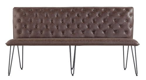 Padded Dining Bench Collection