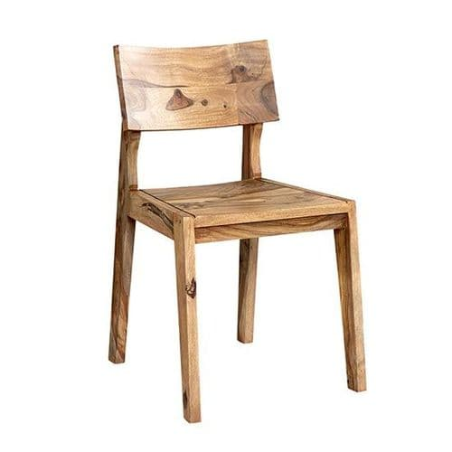 Pair of Jaipur Rosewood Dining Chairs
