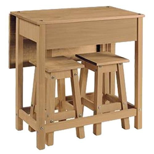 Premium Corona Pine Breakfast Table & Stools