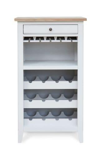 Signature Wine Rack and Glass Storage Cabinet