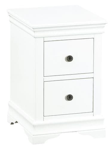 South West Bedside Cabinet with 2 Drawers