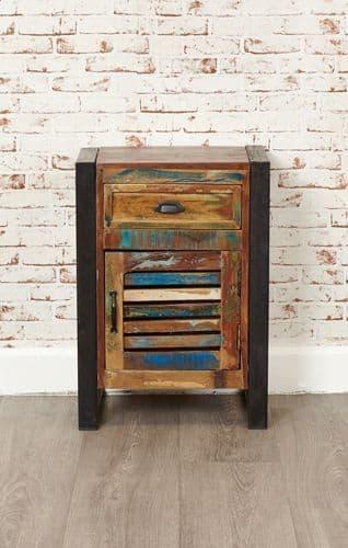 Urban Chic 1 Door/ Drawer Lamp Table