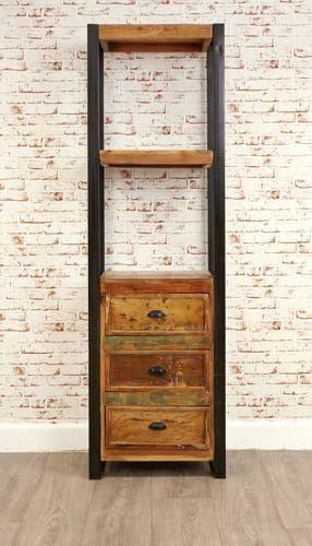 Urban Chic Alcove Bookcase with Storage