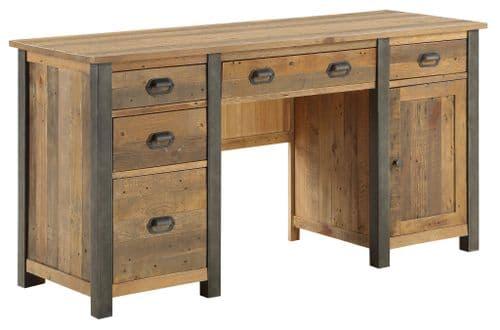 Urban Elegance Twin Pedestal Desk